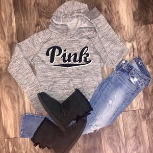 Victoria's Secret PINK hoodie.